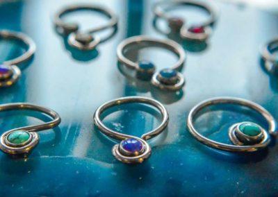 piercing, jewellery