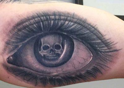 Andrez, tattoo, arm, eye