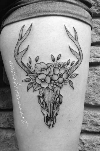 Artist Emma, Deer, Leg